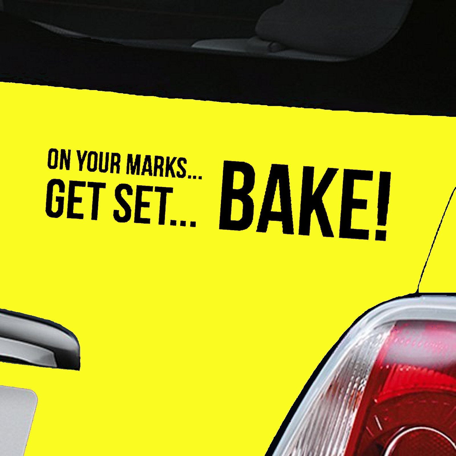 Great British Bake Off Decal - Black
