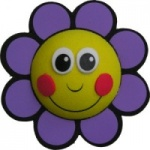 Purple Smiley Flower