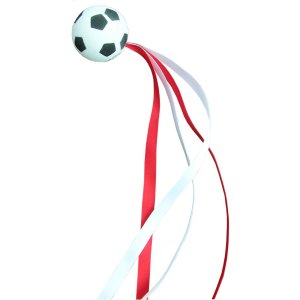 Football with ribbons - RW