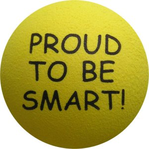 Proud to be Smart - Yellow