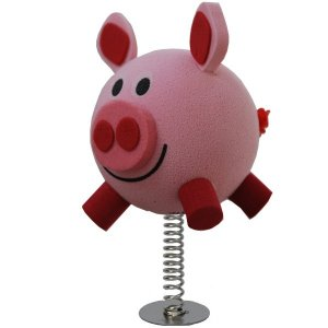 Pink Piggy Wobbler