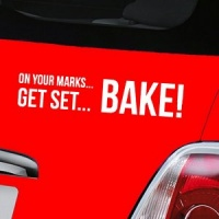 Great British Bake Off Decal - White
