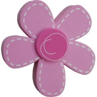 Pink Stitch Effect Daisy