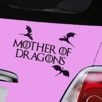 Mother of Dragons Decal - Black
