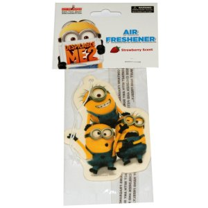 Minion Trio Air Freshener