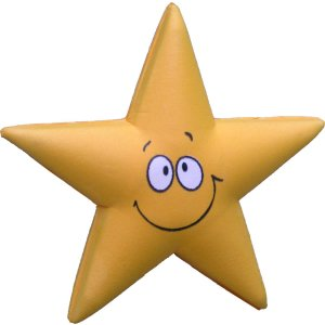 Cute Smiley Star  CLEARANCE