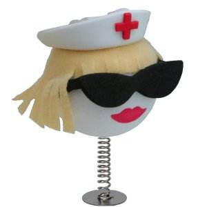 Blonde Nurse Wobbler