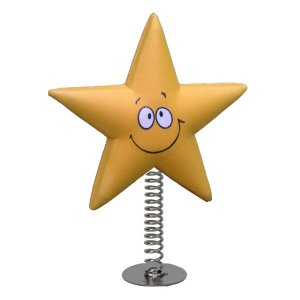 Smiley Star Wobbler
