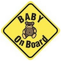Baby On Board Car Sign